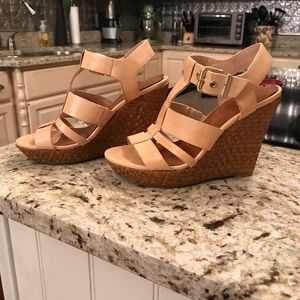 Jessica Simpson wedges. Size 6.5. Used condition.